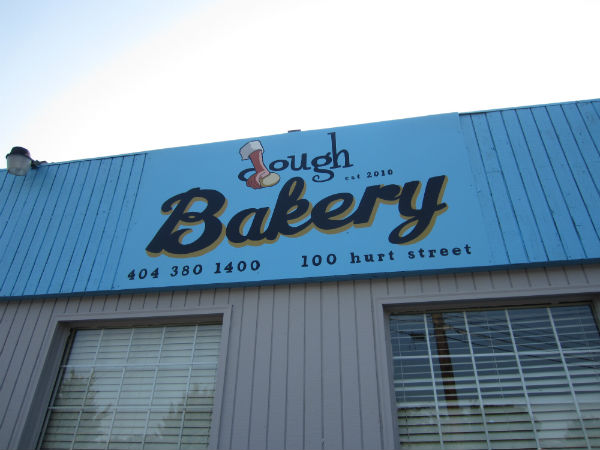 Dough Bakery sign
