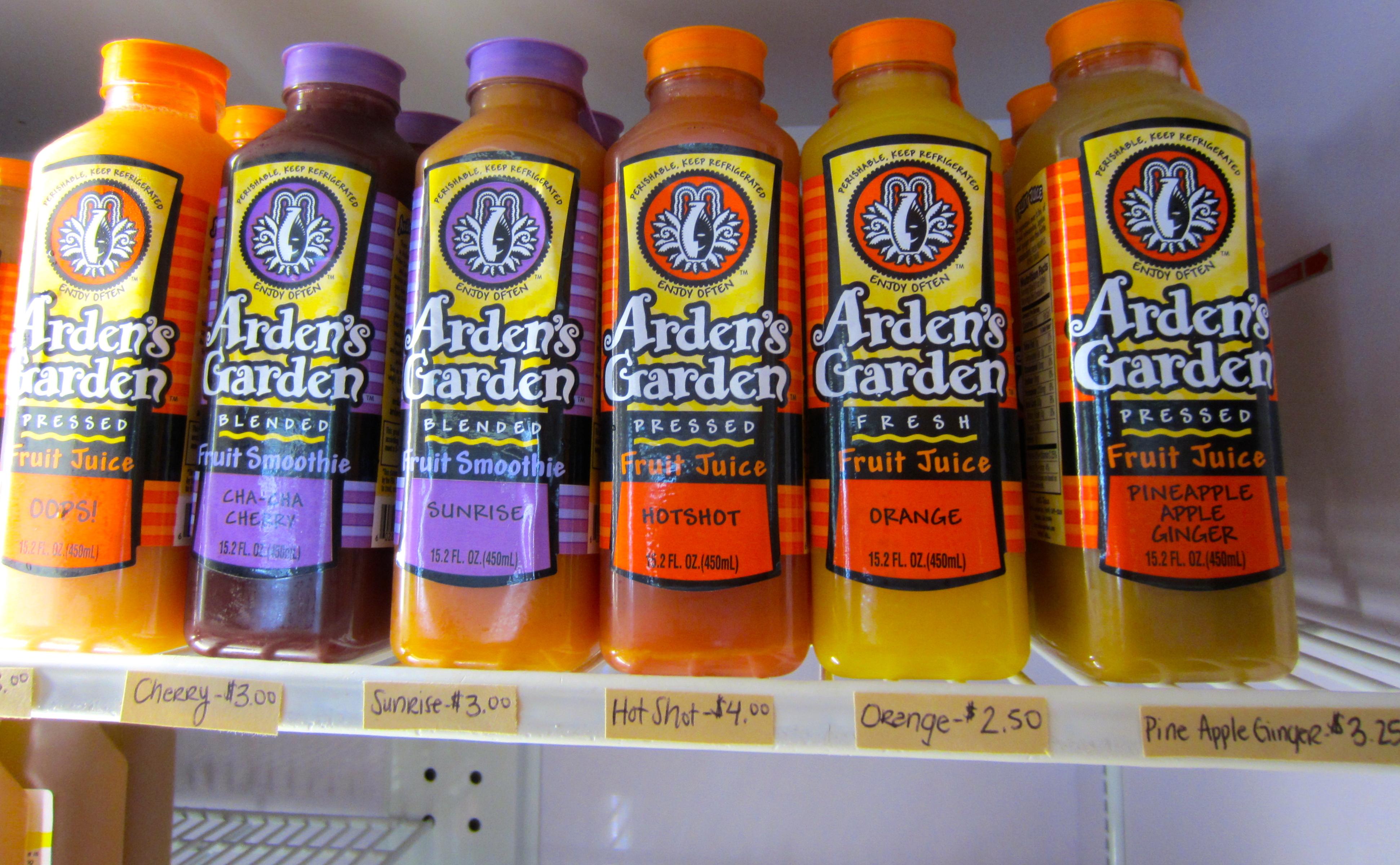 arden's garden juices