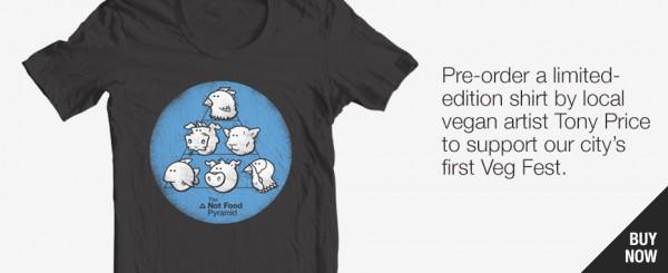 Veg Fest t-shirt presale