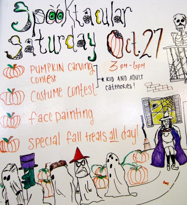 spooktacular saturday oct 27