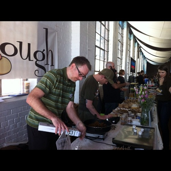 2012 atl veg fest table