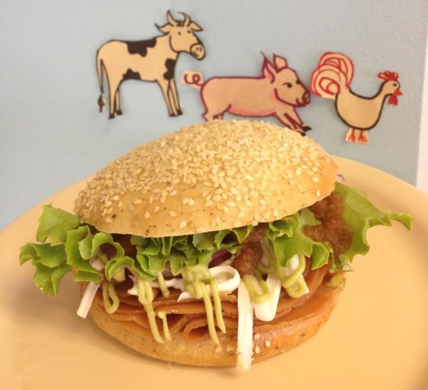 vegan cemita sandwich special